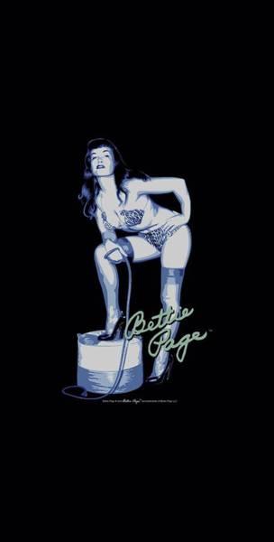 Model A Digital Art - Bettie Page - Mistress by Brand A