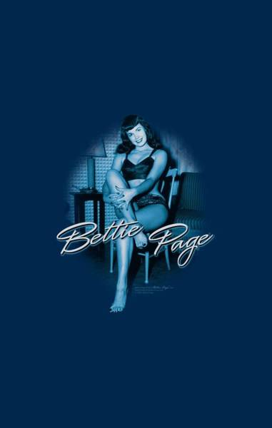 Model A Digital Art - Bettie Page - Patient Pin Up by Brand A