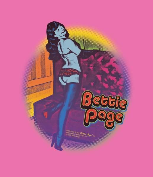 Model A Digital Art - Bettie Page - Retro Pop by Brand A