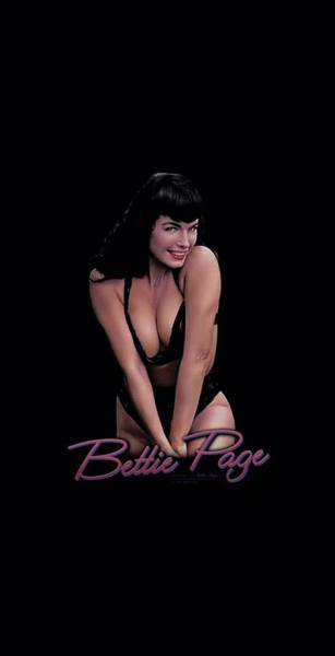 Model A Digital Art - Bettie Page - This Is A Bust by Brand A