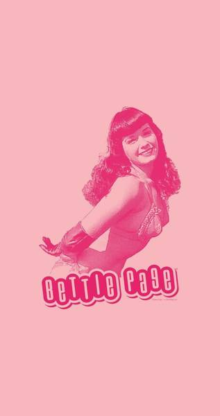 Model A Digital Art - Bettie Page - You'll Put Eyes Out by Brand A