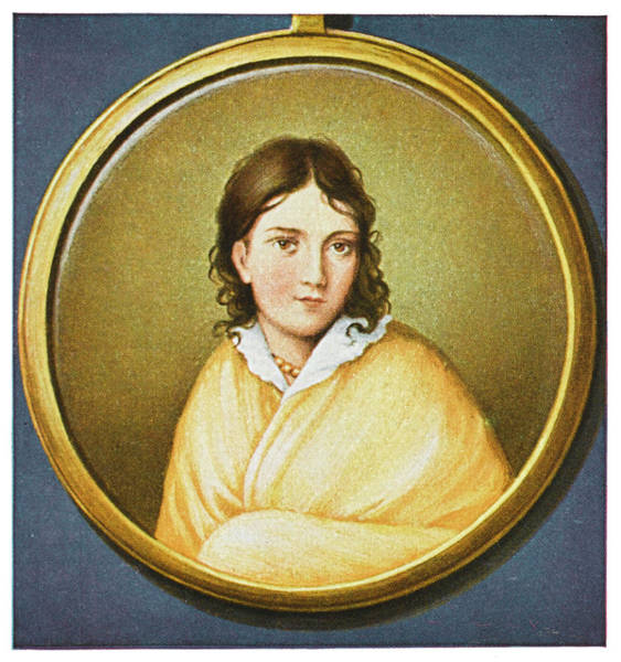 Wall Art - Drawing - Bettina Von Arnim  German Writer by Mary Evans Picture Library