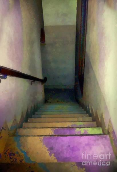 Painting - Between Floors by RC DeWinter
