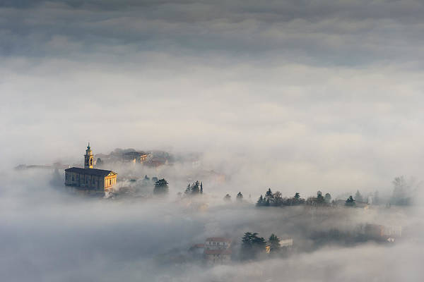 Church Photograph - Between The Earth And The Sky by Roberto Marini