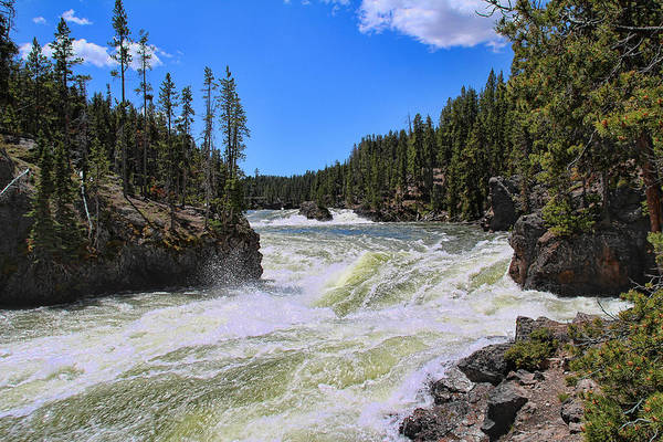 Photograph - Between The Falls by Jemmy Archer
