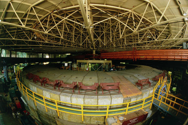 Proton Photograph - Bevatron Accelerator by David Parker/science Photo Library