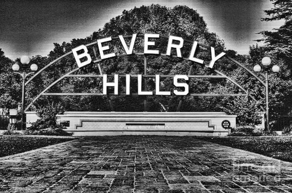 Photograph - Beverly Hills By Diana Sainz by Diana Raquel Sainz