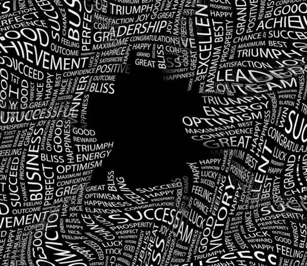 Wall Art - Digital Art - Beware The Black Holes Of Life by Daniel Hagerman