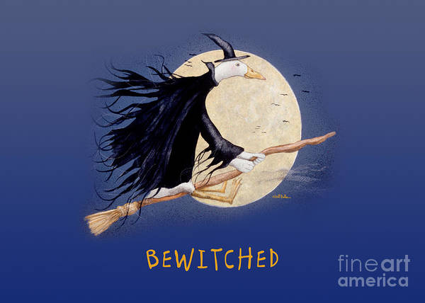 Painting - Bewitched... by Will Bullas