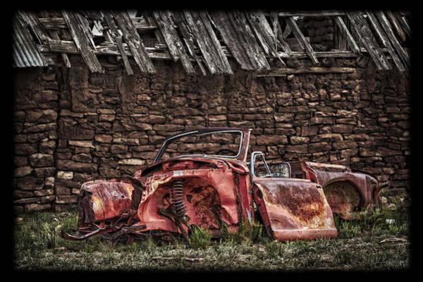 Relics Photograph - Beyond Repair by Medicine Tree Studios