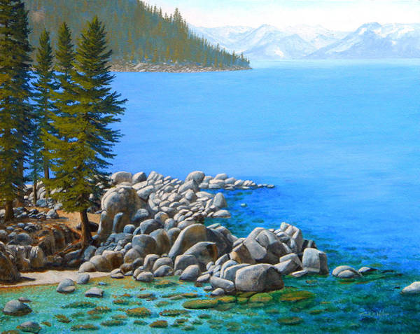 Wall Art - Painting - Beyond Secret Cove by Frank Wilson