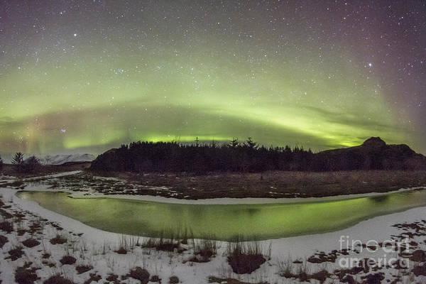 Aurora Wall Art - Photograph - Beyond The Cosmic Horizon by Evelina Kremsdorf