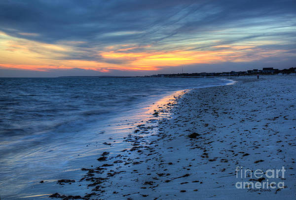 Cape Cod Sunset Photograph - Beyond The Gilded Sunset by Michelle Constantine