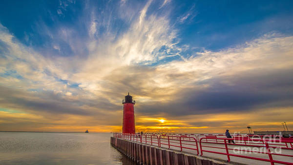Mke Photograph - Beyond The Pier by Andrew Slater