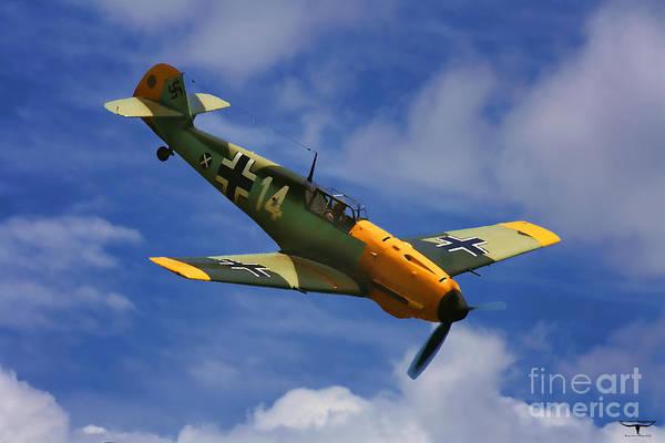 Wall Art - Digital Art - Bf 109 Messerschmitt  by Tommy Anderson
