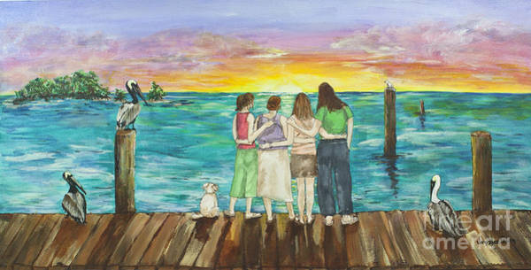 Painting - Bff Morning by Janis Lee Colon