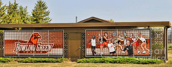 Mac Photograph - Bgsu Tennis 3284 by Jack Schultz