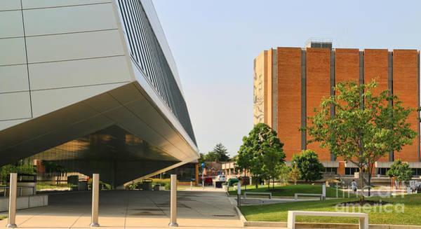Mac Photograph - Bgsu Wolfe Center And Jerome Library 3270 by Jack Schultz