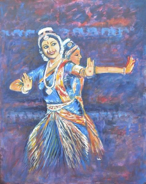 Bharatha Naatyam Art Print