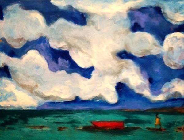 Painting - Bhaskar Bay II by Dilip Sheth