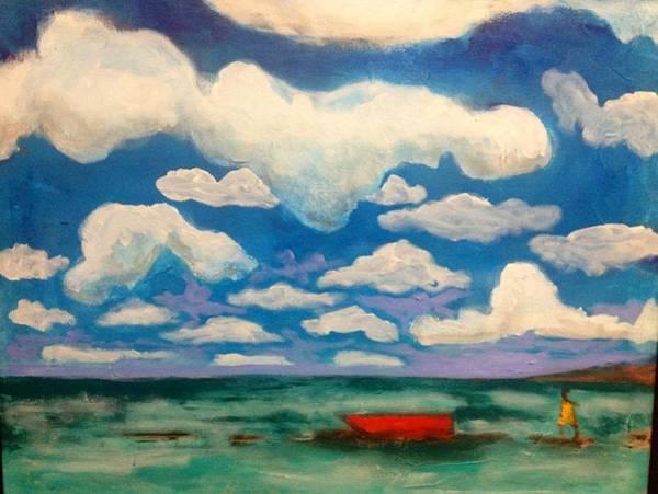 Painting - Bhaskar Bay IIi by Dilip Sheth