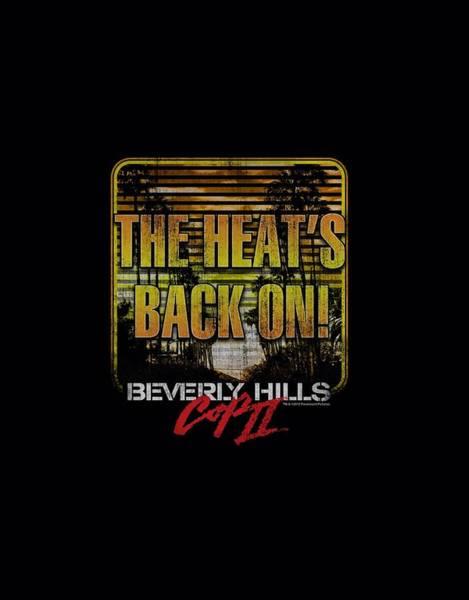 Eddie Digital Art - Bhc IIi - The Heats Back On by Brand A