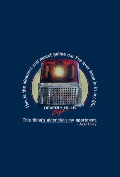 Eddie Digital Art - Bhc - Nicest Police Car by Brand A