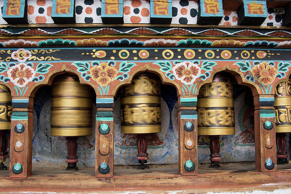 Wall Art - Photograph - Bhutan, Paro, Capital Of Paro District by Cindy Miller Hopkins