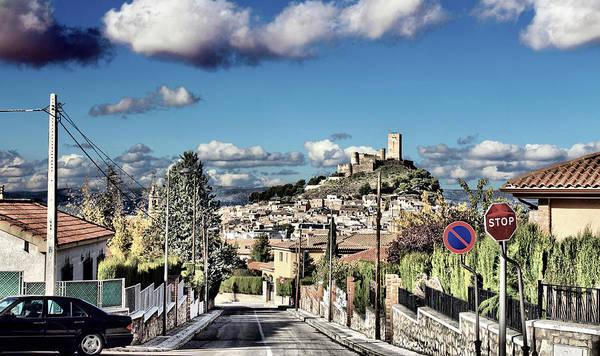 Photograph - Biar's Castle by Pedro Fernandez