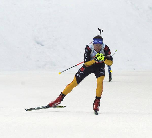 Worldcup Photograph - biathlete Andreas Birnbacher Germany by Rudi Prott