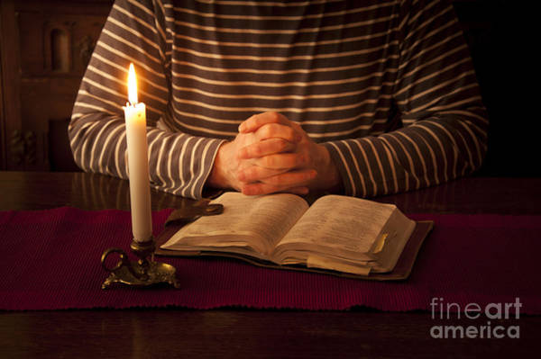 Wall Art - Photograph - Bible Meditation by Donald Davis