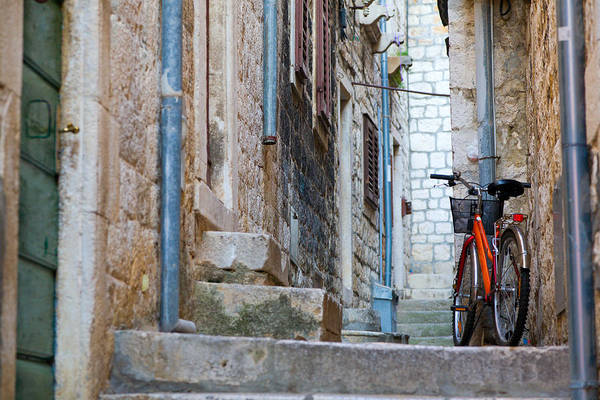 Hvar Wall Art - Photograph - Bicycle by Alexey Stiop