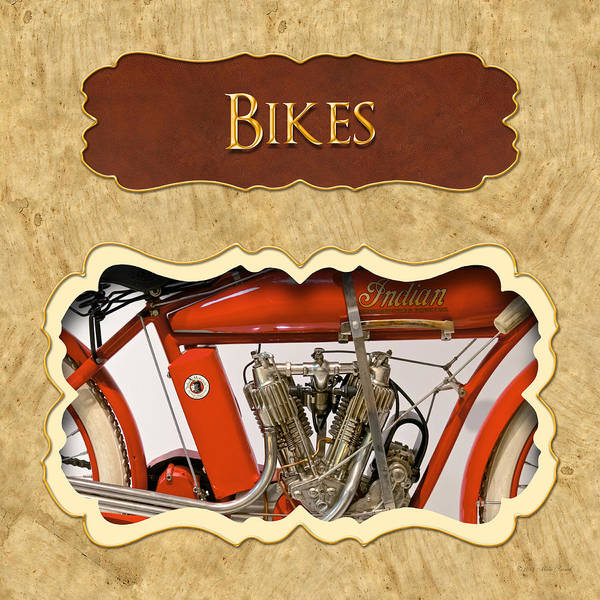 Photograph - Bicycle Button by Mike Savad