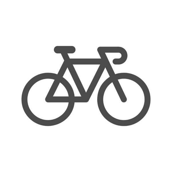 Bicycle Icon Art Print by Rakdee