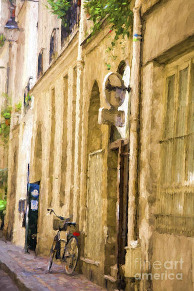 Wall Art - Photograph - Bicycle In Paris by Sheila Smart Fine Art Photography