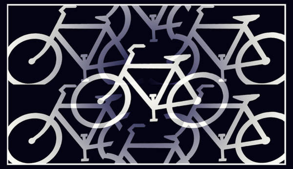 Digital Art - Bicycle Infinity by Bill Cannon