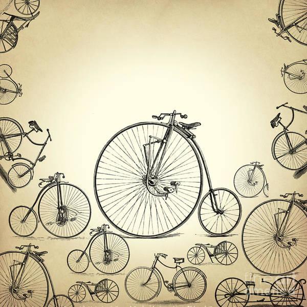 Wall Art - Digital Art - Bicycle by Mark Ashkenazi