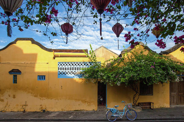Hoi An Photograph - Bicycle On Street,  Hoi An by 117 Imagery