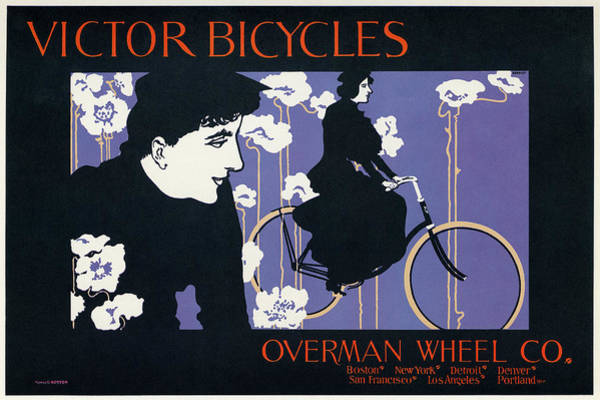 Painting - Bicycle Poster, 1896 by Granger