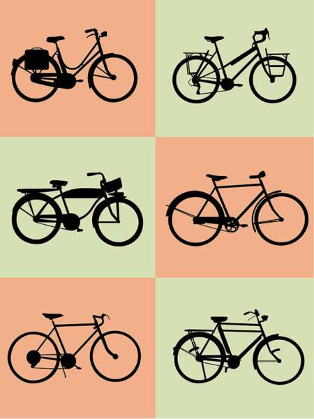 Wall Art - Digital Art - Bicycle Poster by Naxart Studio