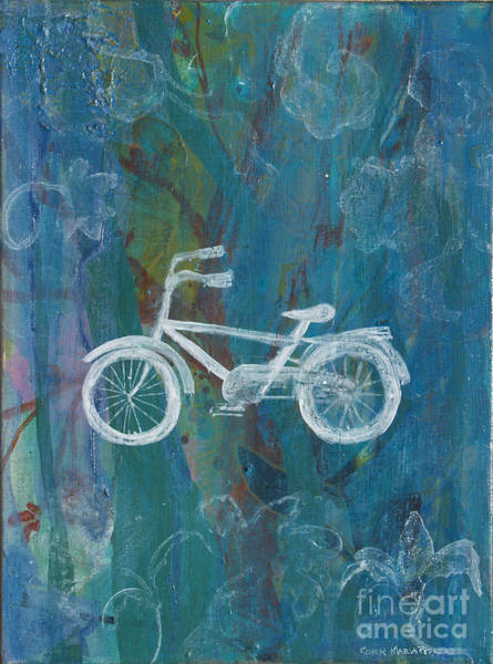Painting - Bicycle by Robin Maria Pedrero