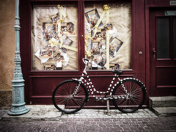 Photograph - Bicycle by Ryan Wyckoff