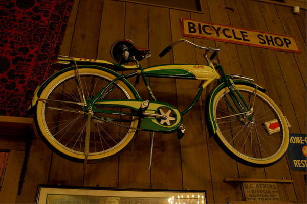 Photograph - Bicycle Shop by David Dufresne