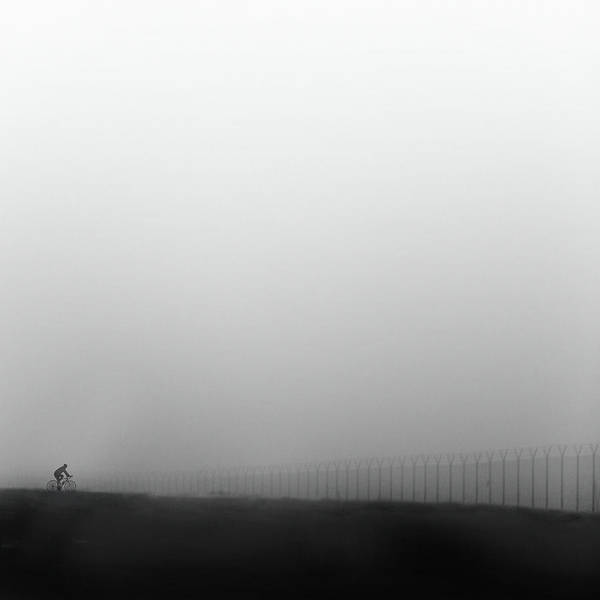 Fences Wall Art - Photograph - Bicycle Stories II by George Digalakis