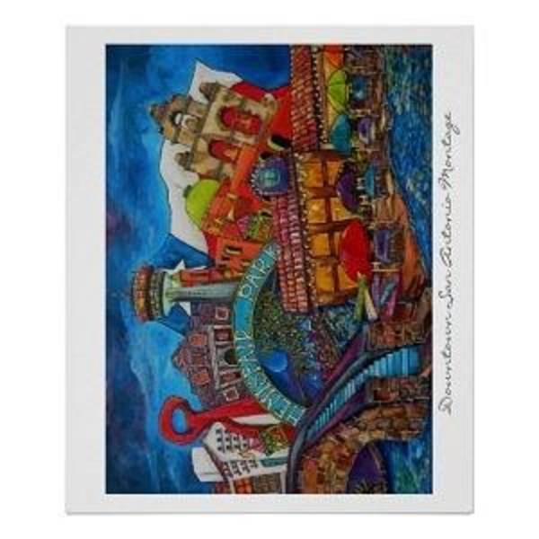 Painting - Bid And Brunch Auction by Patti Schermerhorn