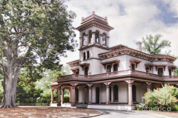 Bidwell Mansion Art Print