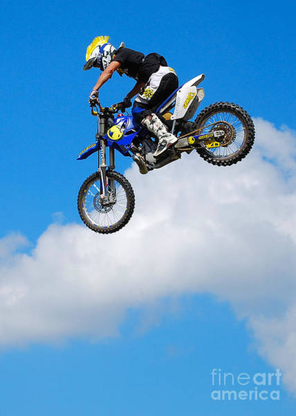 Dirtbike Photograph - Big Air by Mark Spearman