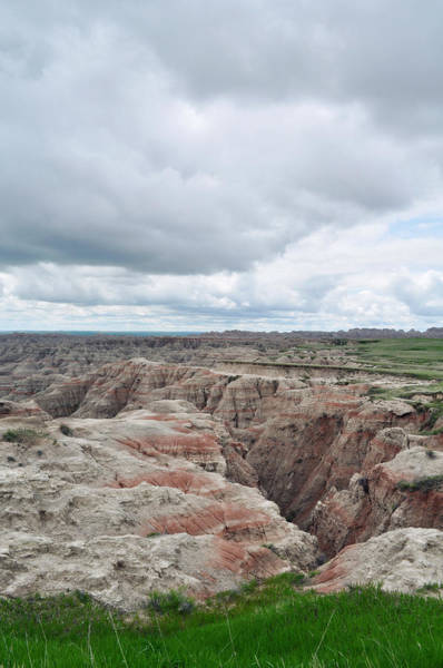 Art Print featuring the photograph Big Badlands Overlook by Kyle Hanson