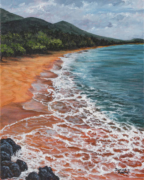 Painting - Big Beach by Darice Machel McGuire