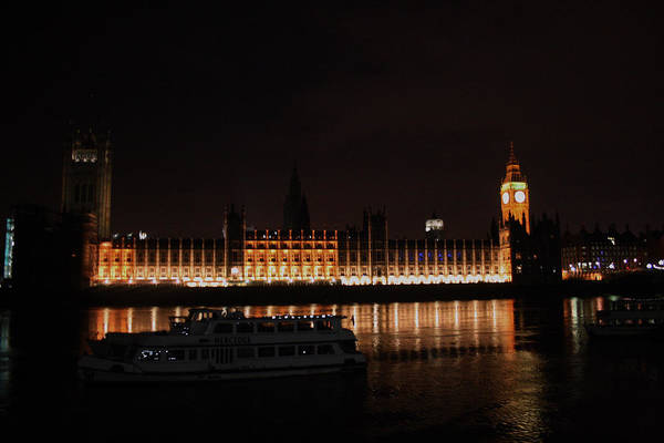 Photograph - Big Ben And The Houses Of Parliment On The Thames by Doc Braham